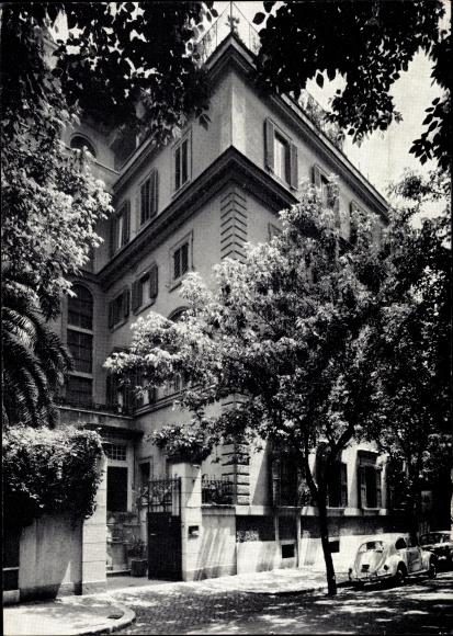 Ak Roma Rom Lazio, Diakonissenheim, Via Alessandro Farnese 18