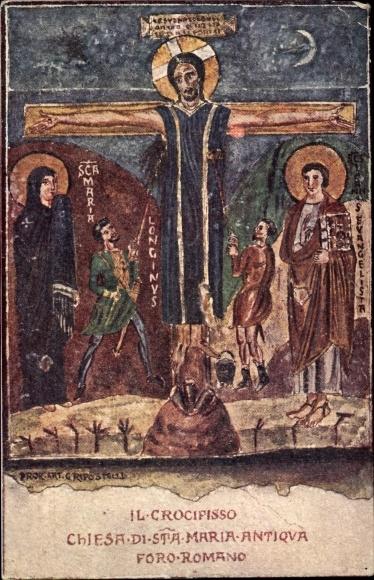 Künstler Ak Roma Rom Lazio, La Chiesa di S. Maria Antiqva, Jesus