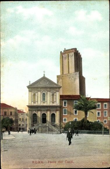 Ak Roma Rom Lazio, Torre dei Conti, Türme