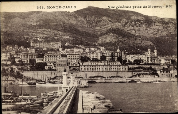 Ak Monte Carlo Monaco, Vue générale