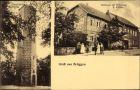 Ak Brüggen Gronau Leine, Gasthaus zur Erholung, Aussichtsturm auf dem Tafelberg
