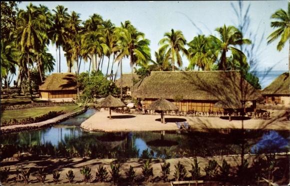 Ak Tahiti, Hotel Bel Air, Palmen