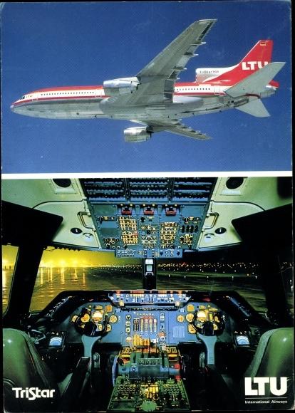 Ak Lockheed Tristar L-1011-500, Passagierflugzeug, LTU