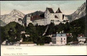 Ak Füssen im Ostallgäu, Schloss