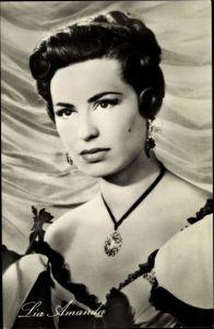 Ak Schauspielerin Lia Amanda, Portrait, Der Graf von Monte Christo