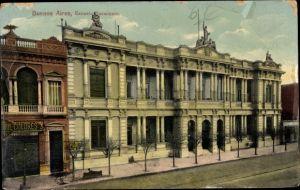Ak Buenos Aires Argentinien, Escuela Sarmiento
