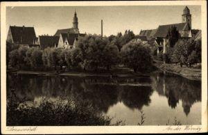 Ak Donauwörth in Schwaben, An der Wörnitz