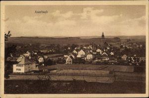 Ak Auerbach im Vogtland Sachsen, Totalansicht vom Ort