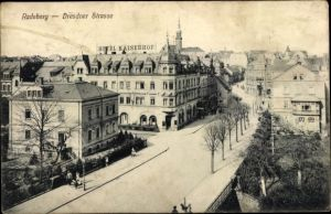 Ak Radeberg in Sachsen, Dresdner Straße, Hotel Kaiserhof