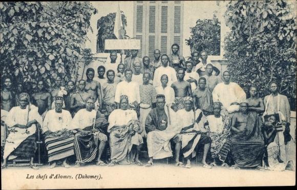 Ak Dahomey Benin, Les chefs d'Abomey