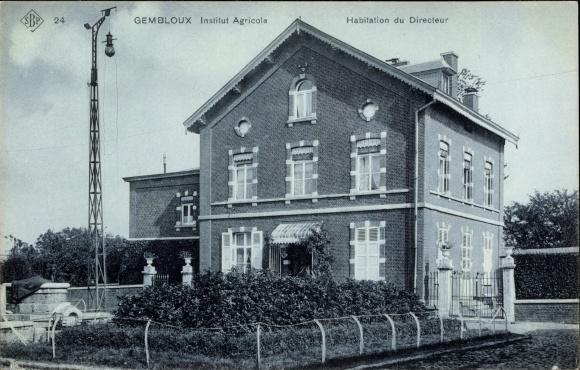 Ak Gembloux Wallonien Namur, Institut Agricole, Habitation du Directeur