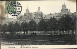 Ak Hamburg Mitte Altstadt, Realgymnasium des Johanneums
