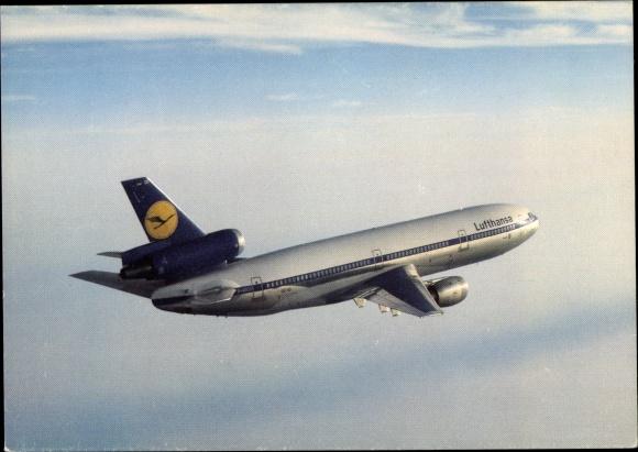 Ak Lufthansa Douglas DC 10, Passagierflugzeug
