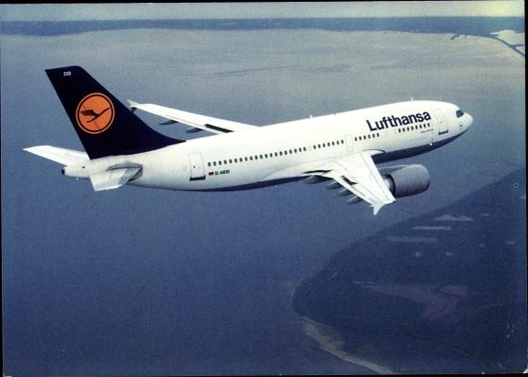 Ak Lufthansa Airbus A310 300, Passagierflugzeug
