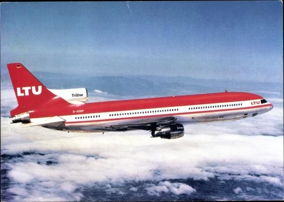 Ak LTU TriStar L 1011 1, Lockheed, D AERP, Passagierflugzeug