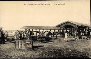 Ak Djibouti Dschibuti, Le Marché