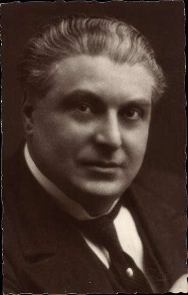 Ak Schauspieler J. Bourbon, Portrait