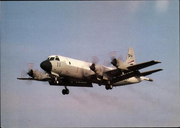 Ak US Amerikanisches Militärflugzeug, Lockheed P3-C Orion, US Navy VP-91