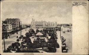Ak San Antonio Texas, Alamo Plaza and Post Office