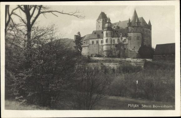 Ak Mayen im Landkreis Mayen Koblenz, Schloss Bürresheim