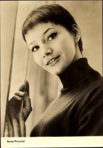 Ak Schauspielerin Anna Prucnal, Portrait