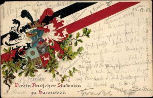 Studentika Litho Hannover in Niedersachsen, Verein Deutscher Studenten