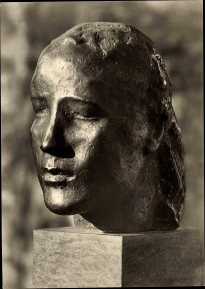 Ak Plastik, Georg Kolbe, Das Innere Gesicht