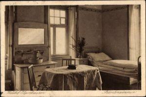 Ak Elgershausen Schauenburg Nordhessen, Waldhof, Patientenzimmer