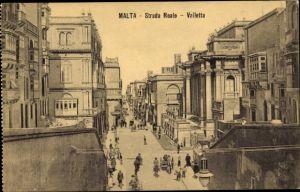 Ak Valletta Malta, Strada Reale