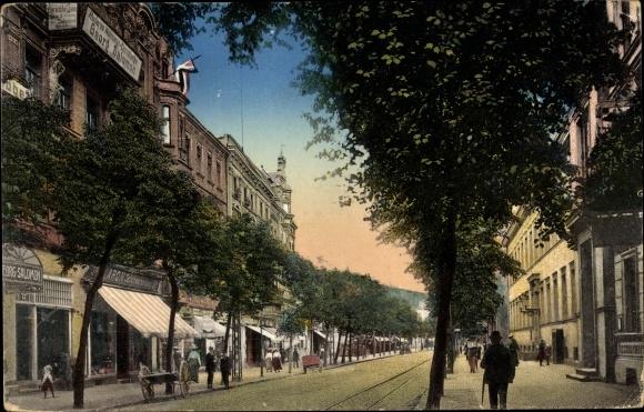 Ak Sowjetsk Tilsit Ostpreußen, Hohestraße