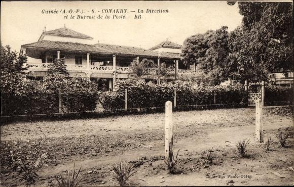 Ak konakry conakry guinea la direction et le bureau de la poste nr