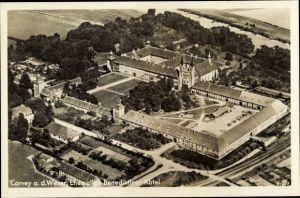 Ak Corvey an der Weser, ehemalige Benediktiner Abtei