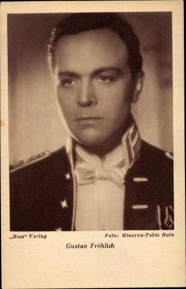 Ak Schauspieler Gustav Fröhlich, Portrait