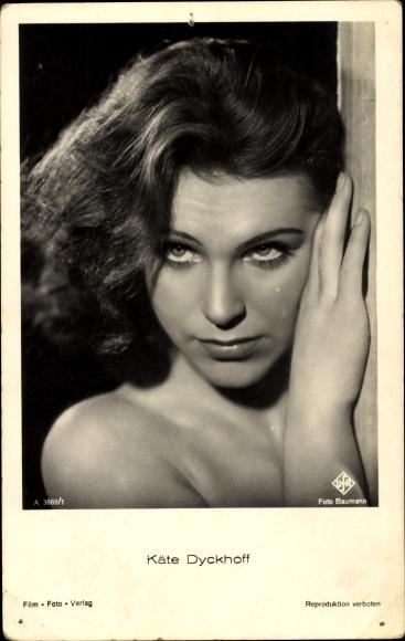 Ak Schauspielerin Käte Dyckhoff, Portrait, UFA Film, A 3669 1