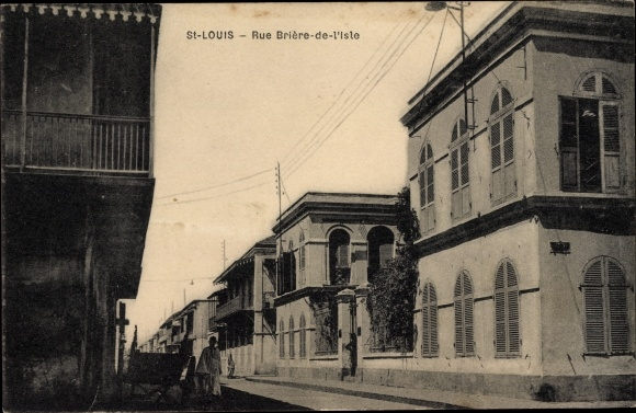 Ak St. Louis Senegal, Rue Briere de l'Isle