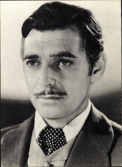 Ak Schauspieler Clark Gable, Portrait