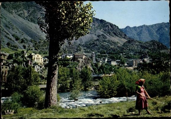 Ak Andorra la Vella Andorra, Tal von Andorra