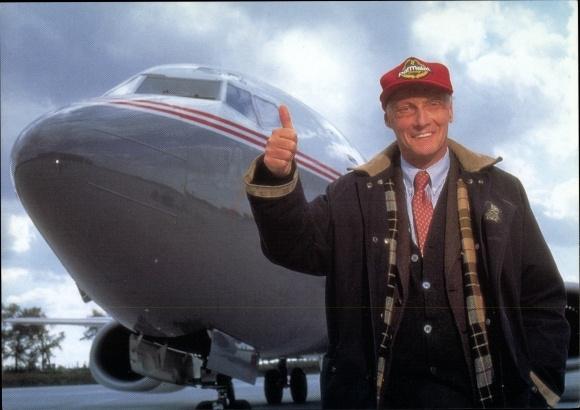 Ak Niki Lauda Airlines, Passagierflugzeug