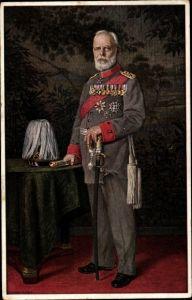 Künstler Ak Ludwig III. König von Bayern, Portrait, Uniform, Orden