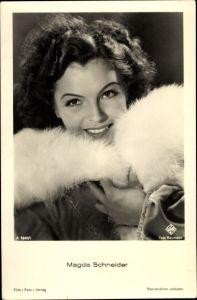 Ak Schauspielerin Magda Schneider, Portrait, Ufa Film