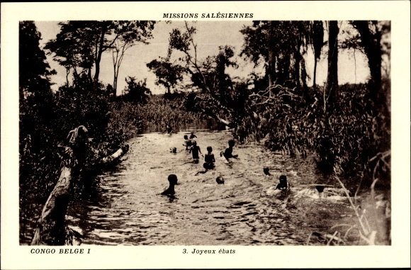 Ak Demokratische Republik Kongo, Mission Salésiennes, Joyeaux ébats