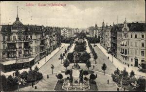 Ak Szczecin Stettin Pommern, Kaiser Wilhelmstraße