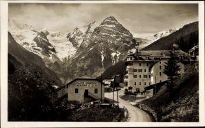 Ak Trafoi Südtirol, Hôtel Posta, Ortler, Garage