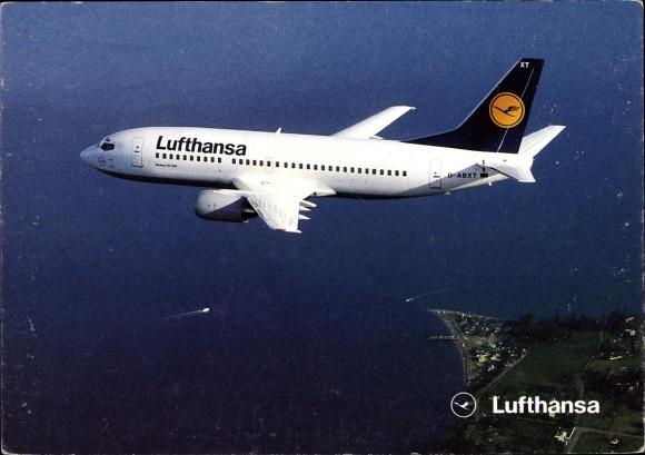 Ak Boeing 737-300, Lufthansa, Passagierflugzeug