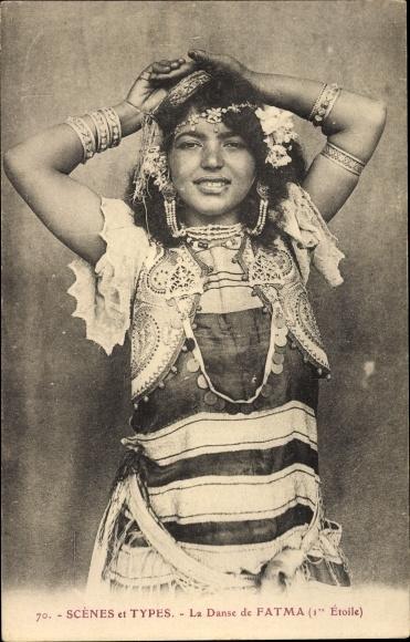 Ak Maghreb, Scènes et Types, La Danse de Fatma