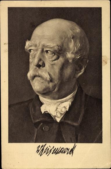 Künstler Ak Petersen, Otto von Bismarck, Herzog zu Lauenburg, Spende f. Bismarckwarte Berlin Westend