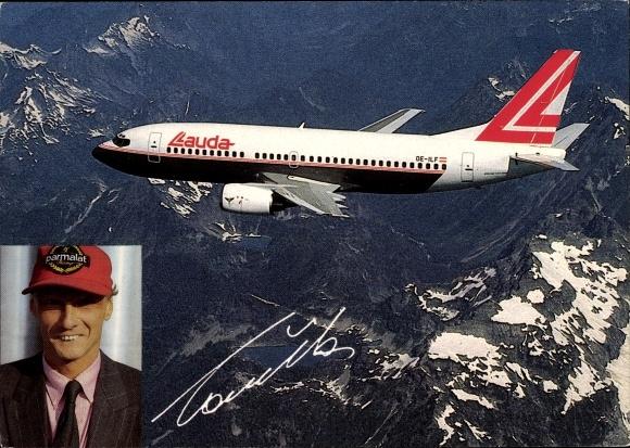 Ak Boeing 737-300 Bob Marley, Niki Lauda Airlines, Passagierflugzeug 0