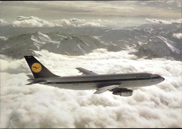 Ak Airbus A 300, Lufthansa, Passagierflugzeug 0
