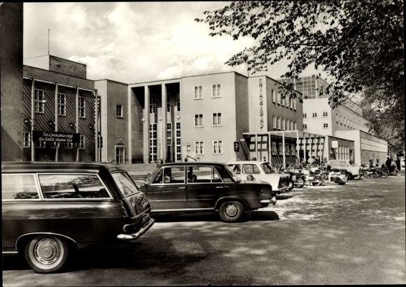 Ak Chemnitz Sachsen, Am Stadtbad