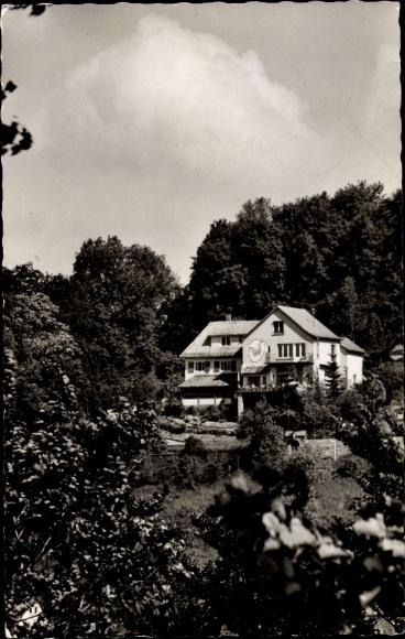Ak Lindenfels im Odenwald Hessen, Haus Luginsland 0